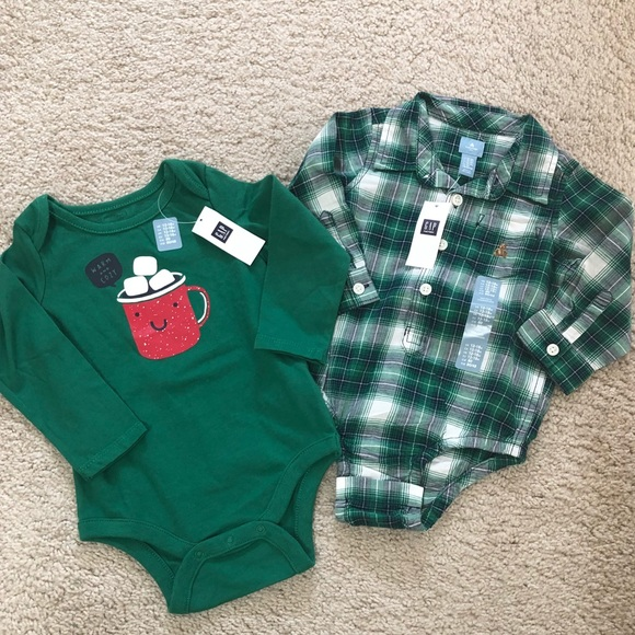 c6ae0da27 GAP One Pieces | Baby Boy Long Sleeved And Flannel Onesies | Poshmark